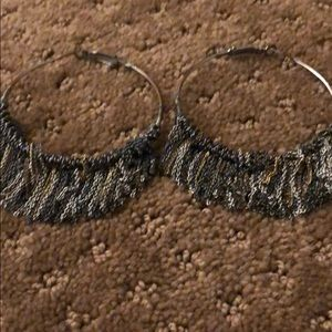 Urban Outfitters Jewelry - Urban Outfitters boho hoop earrings